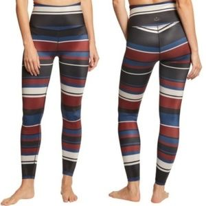 Beyond Yoga Stripe Lux High Waisted Midi Legging